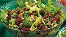 Red and Green Tossed Salad Recipe