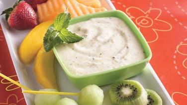 Mango-Mint Fruit Dip