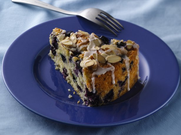 Luscious Lemon-Blueberry Coffee Cake 