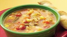 Spanish Chicken and Rice Soup Recipe