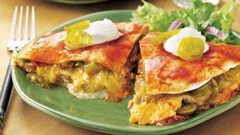 Stove-Top Chicken Enchilada Lasagna