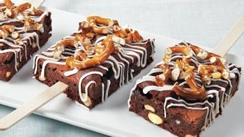 Rocky Road Brownie Sticks