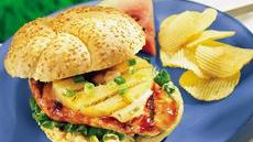 Grilled Teriyaki Chicken Sandwiches Recipe