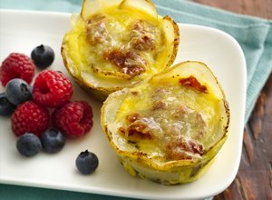 Mini&#32;Breakfast&#32;Quiches&#32;with&#32;Potato&#32;Crust