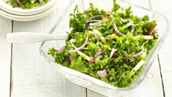 Gluten Free Kale and Apple Slaw
