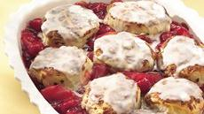Cinnamon Roll-Topped Cobbler Recipe