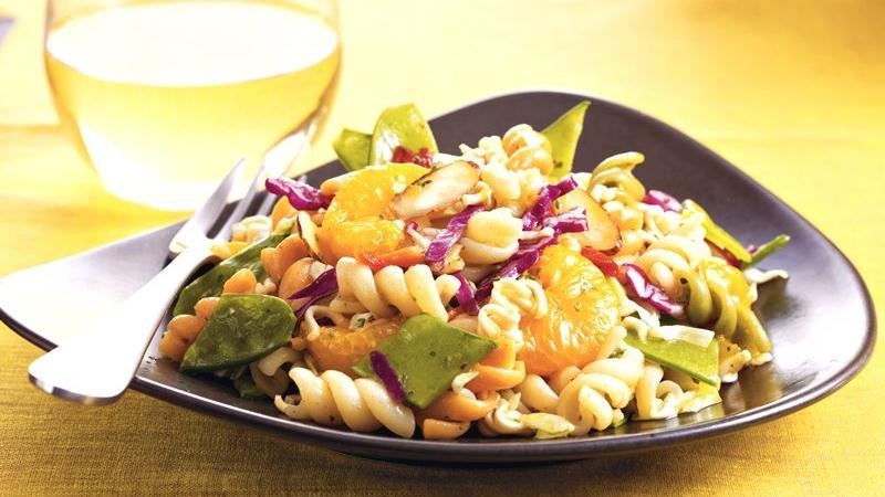 Crunchy Asian Pasta Salad recipe from Betty Crocker