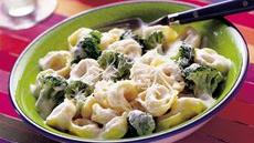 Broccoli and Tortellini Alfredo Recipe