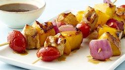 Paleo Gluten-Free Hawaiian Chicken Kabobs