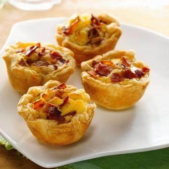 Mini Bacon-Cheese Cups
