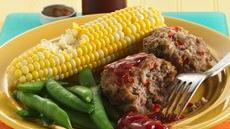 Turkey Meat Loaves Recipe