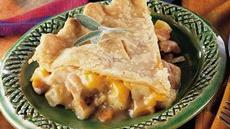 Chicken, Apple and Onion Pot Pie Recipe