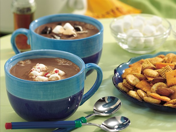 Slow Cooker Deluxe Hot Chocolate Buffet Sip of this unbelievably rich cocoa