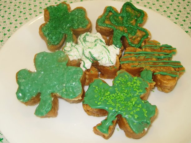 St. Paddys Cheerios Treats