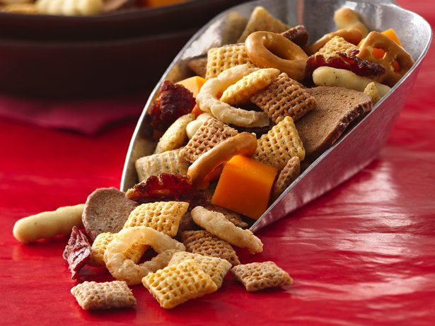 Cheese Steak Chex Mix