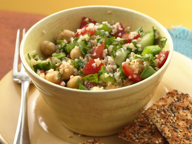Tabbouleh with Garbanzo Beans