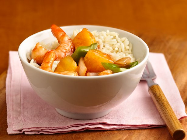 Simple Sweet-and-Sour Shrimp