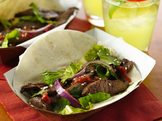 Beef Bulgogi Korean Tacos