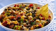 Warm Southwest Salsa with Tortilla Chips Recipe