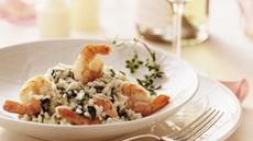 Champagne Shrimp Risotto Recipe