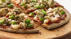 Pesto Chicken Pizzas