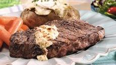 Grilled Steaks with Chipotle Butter Recipe