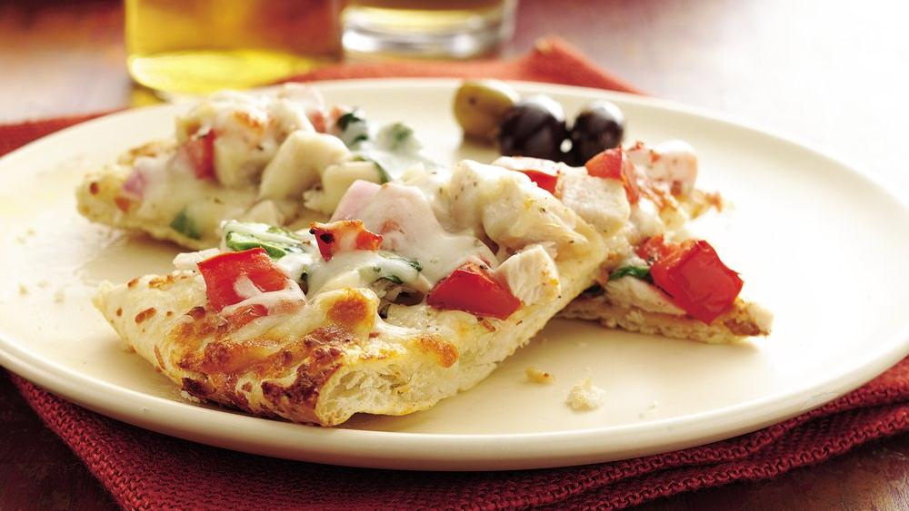 Ranch Turkey Pizza