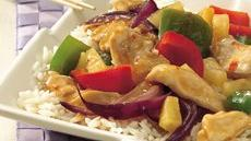Chicken and Sweet Pepper Stir-Fry Recipe