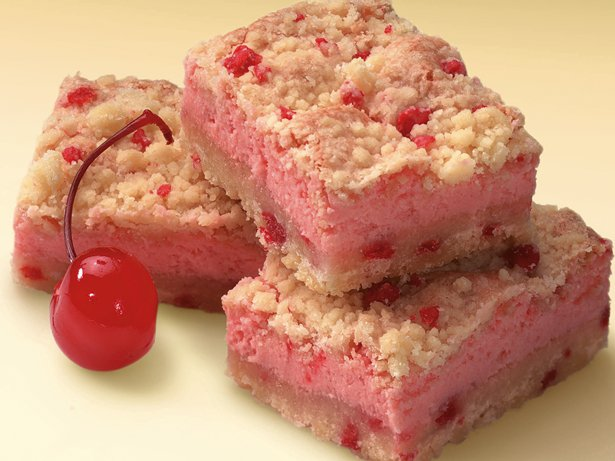 Cherries Jubilee Cheesecake Bars
