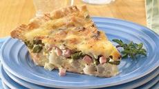 Canadian Bacon and Potato Quiche Recipe
