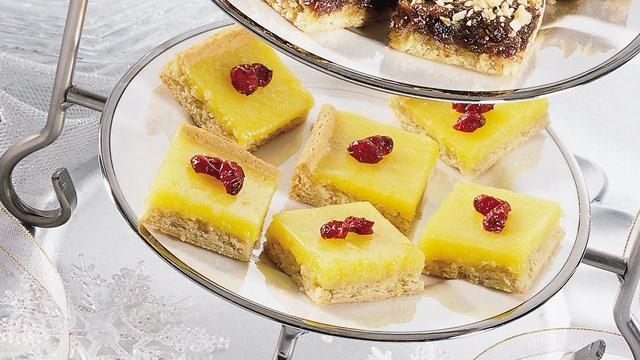 Lemon-Cranberry Bars