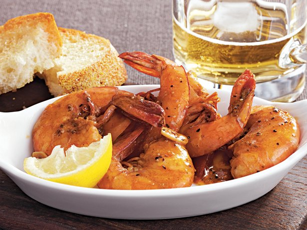 Slow Cooker New Orleans Style Barbecue Shrimp