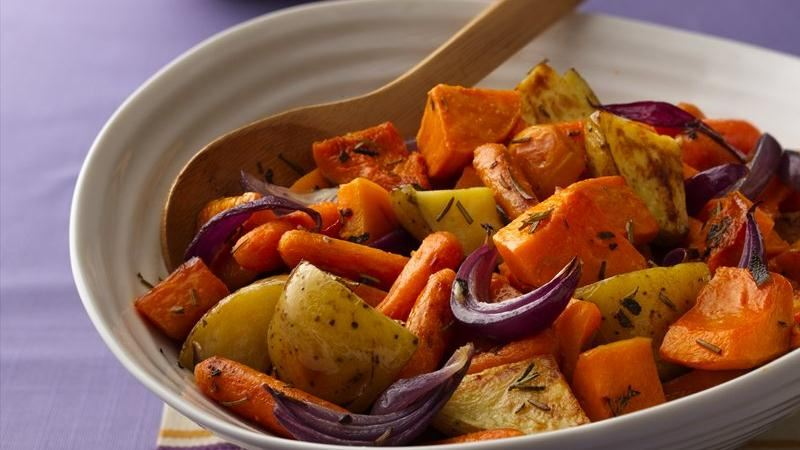 Baked Autumn Vegetables
