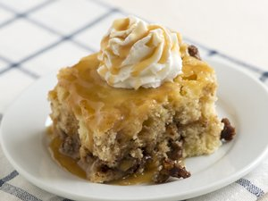 Swirled Apple Sour Cream Cake