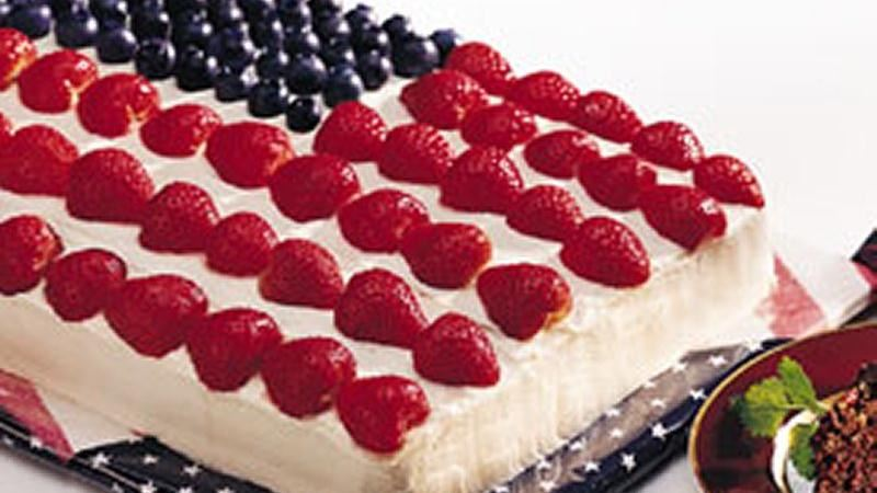 Stars and Stripes Cake