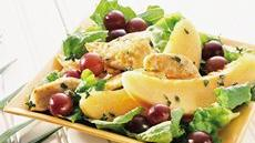 Warm Chicken Salad with Fruit Recipe