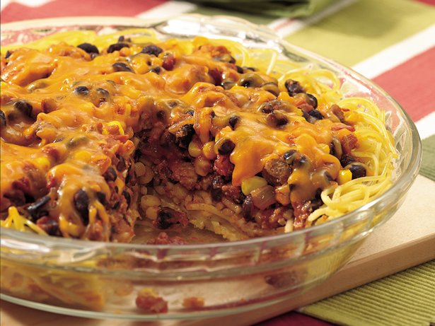 Southwestern Spaghetti Pie
