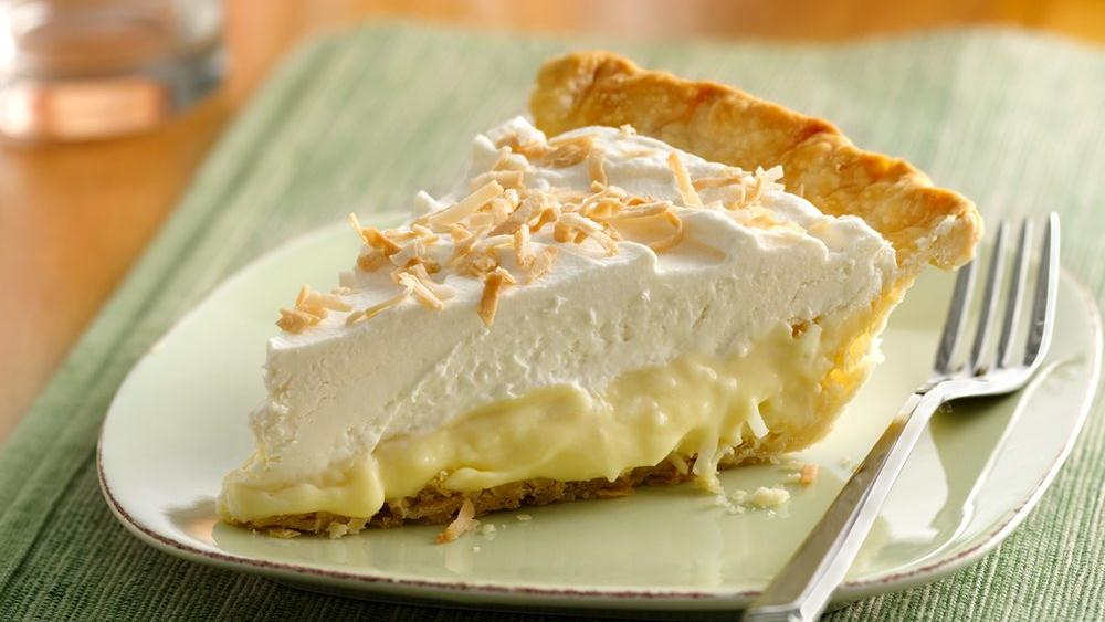 Creamy Coconut Pie recipe from Pillsbury.com