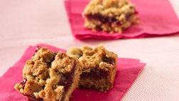 Raspberry-Granola Bars