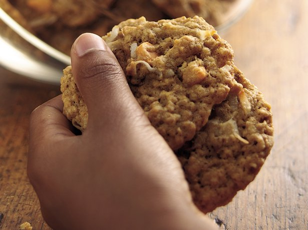 Butterscotch-Pecan-Oatmeal Cookies