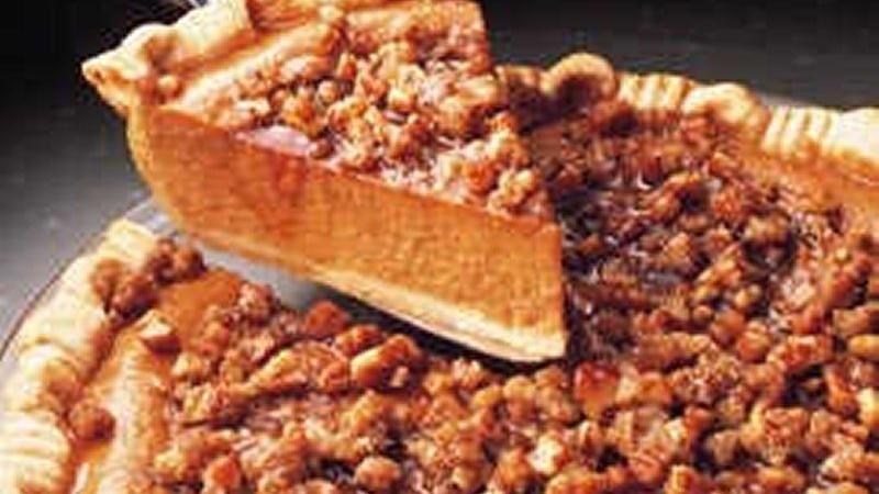 Praline Pumpkin Pie recipe from Betty Crocker