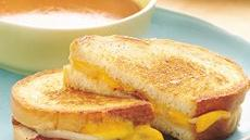 Onion and Bacon Cheese Sandwiches Recipe