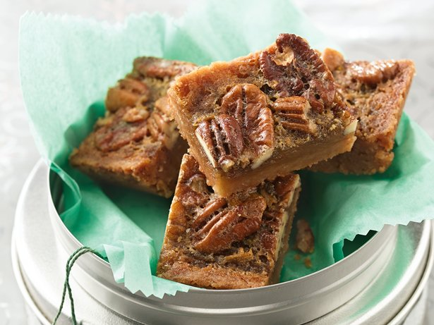 Pecan-Rum Bars