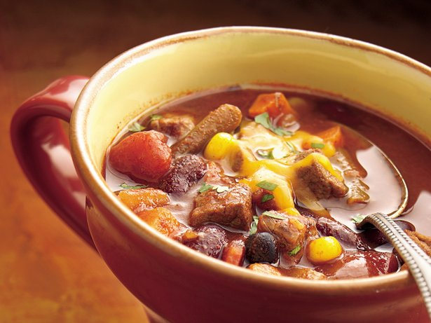 Slow Cooker Beef-Vegetable Chili