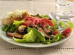 Broiled Portobello Mushroom Salad