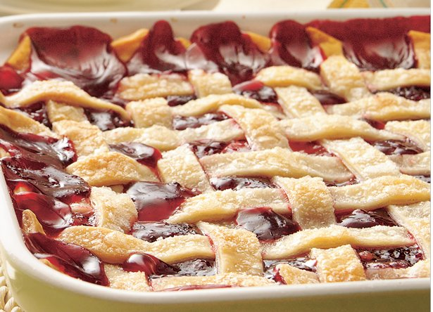 Image of Apple-raspberry Cobbler, Betty Crocker