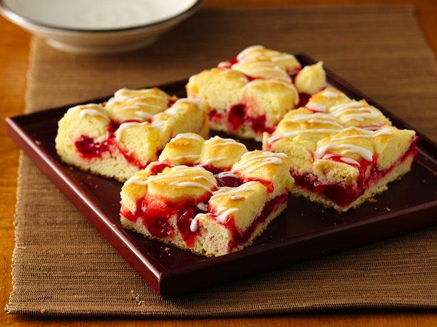 Gluten-Free Fruit Swirl Coffee Cake