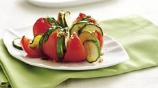 Baked Tomatoes with Zucchini Recipe