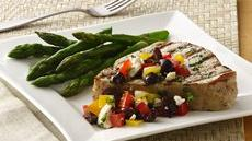 Mediterranean Tuna Steaks Recipe