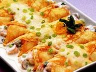 Seafood Crepes